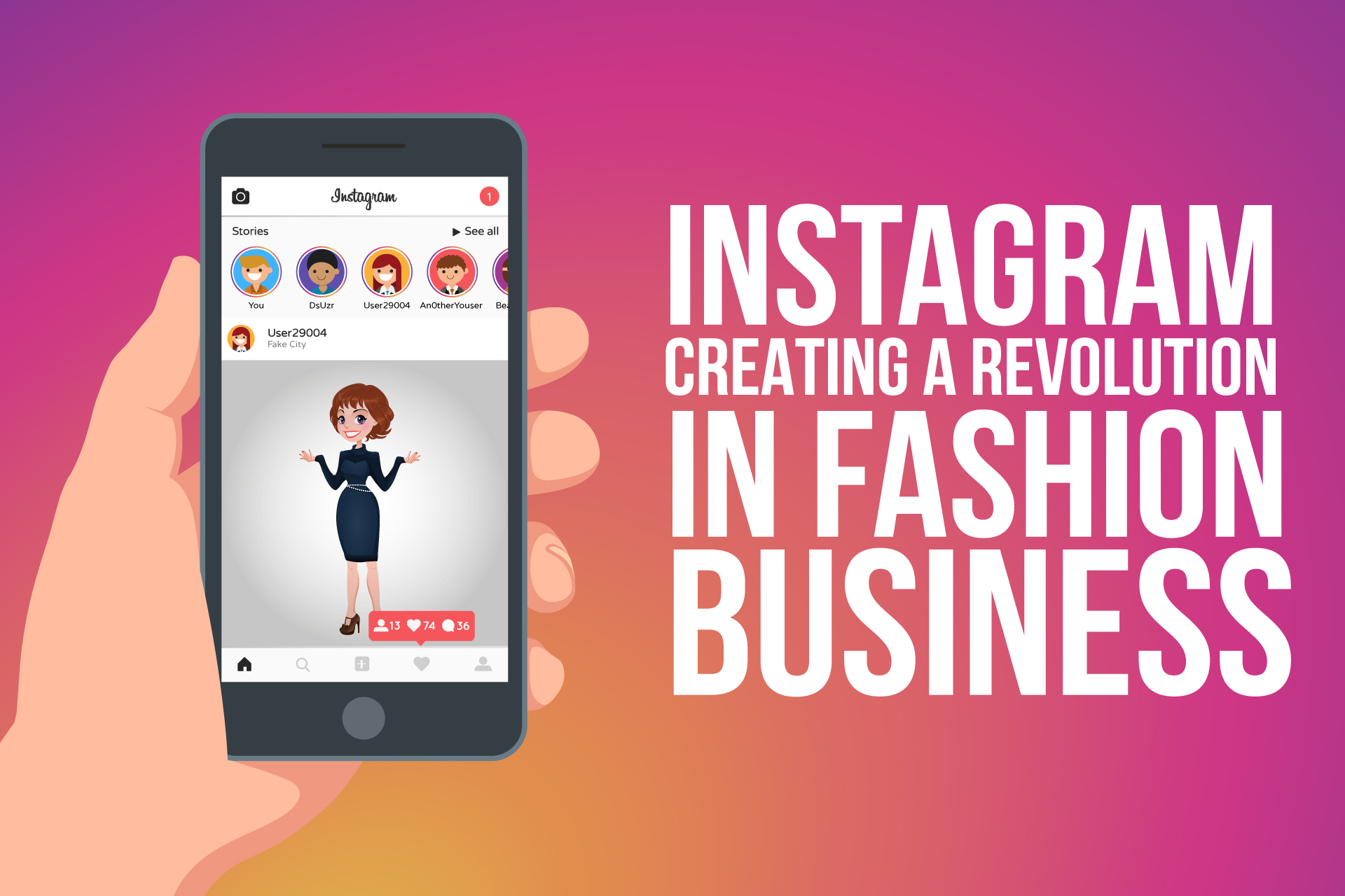 Instagram – Creating a Revolution in Fashion Business