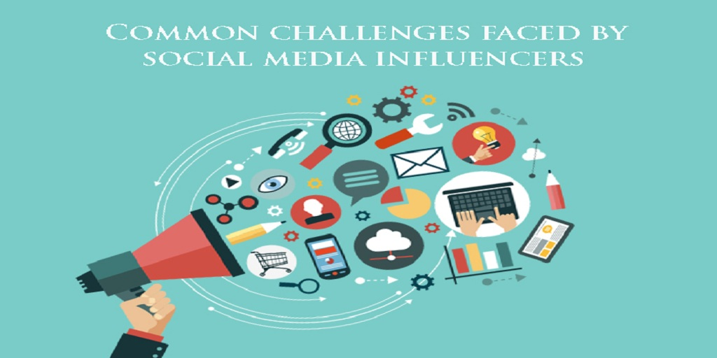 Common challenges faced by social media influencers