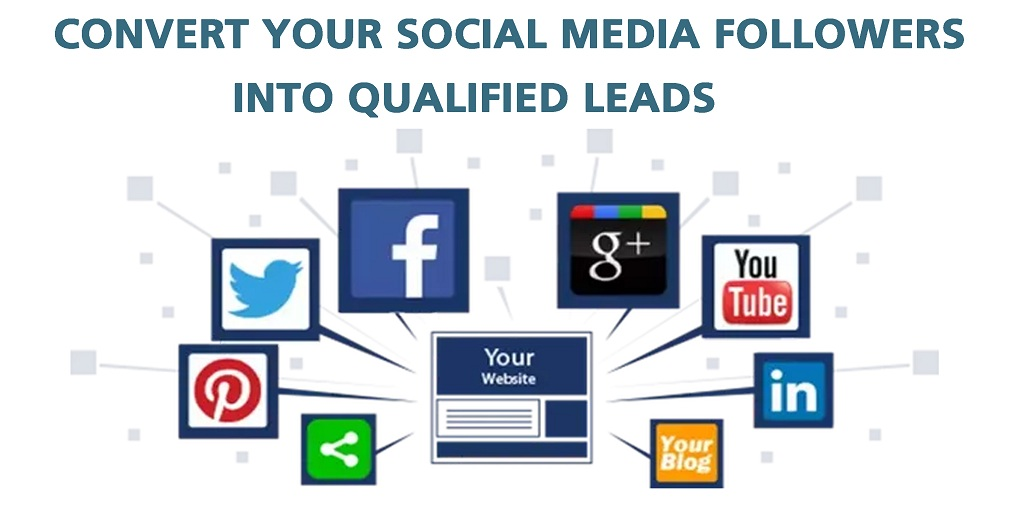 Convert your social media followers into qualified leads