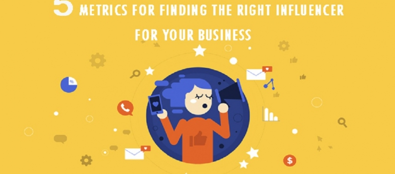 5 Metrics for finding the right influencer for your business